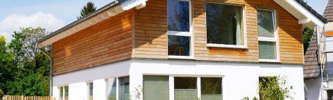 Holz und Haus gehören zusammen